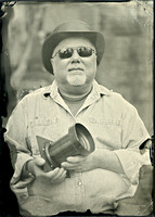 portrait, people, wet plate collodion, alumitype