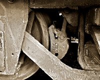 """Trains, Abstracts, Black River Train Yard, Still Life"""