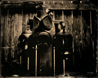 wet plate collodion, still life, portraiture, Masks, The Unforgotten