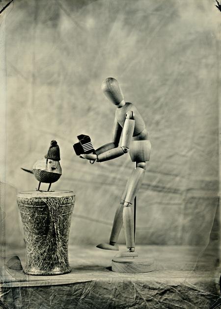 """collodion, wet plate, ferrotype, tintype, still life, paparazzi"""